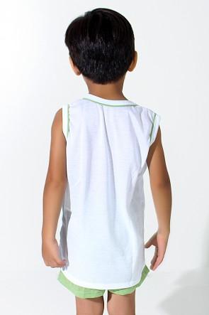 Pijama infantil Mas. Regata 039 (Verde) | Ref: CEZ-PA039-001