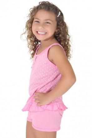 Babydoll infantil 203 Rosa | CEZ-PA-059-003