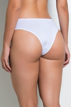 Calcinha Flor (Branco) | Ref: KS-A179-001