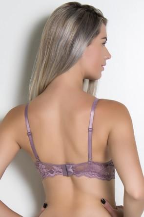 Soutien Grazy com Pala Rendada 147 (Nude Satin) | Ref: KS-B188-005