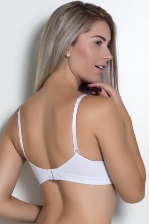 Soutien Confort com Bojo Sem Costura ZR0303 (Branco) | Ref: KS-B251-001