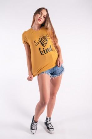 Blusa Nózinho com Silk Be Kind (Mostarda) | Ref: K2834-G