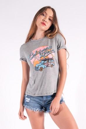 Blusa Nózinho com Silk California Dreams (Mescla) | Ref: K2835-C
