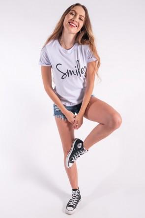 Blusa Nózinho com Silk Smile (Branco) | Ref: K2840-B