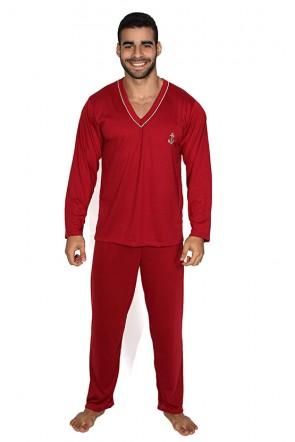 Kit com 3 Pijamas (Modelos e Estampas Variadas) | Ref: KS-P98-001