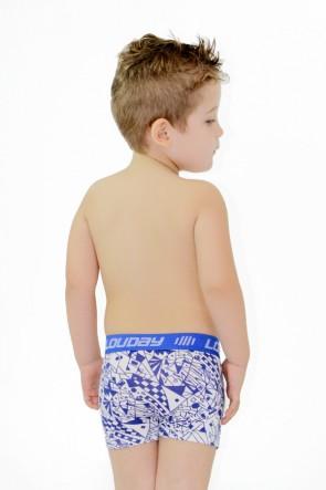 Cueca Boxer Infantil Louday | Ref: C23