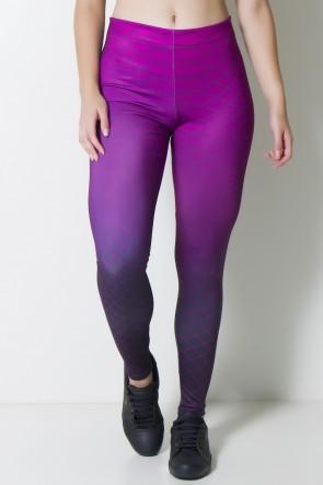 Calça Legging Sublimada Linhas Espirais  | Ref: CAL352-041