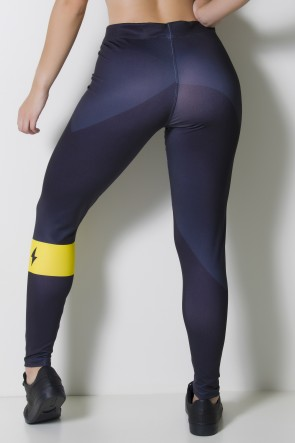 Calça Legging Sublimada Eletric Force  | Ref: CAL355-041
