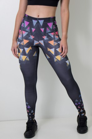 Calça Feminina Legging Sublimada Arrow Attack | Ref: CAL390-041