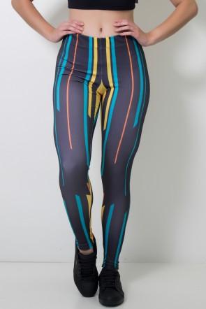 Calça Feminina Legging Direct Lines | Ref: CAL393-041