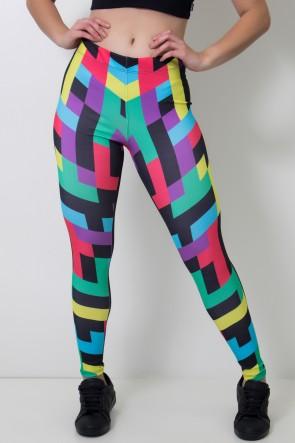 Calça Feminina Legging Colorquad | Ref: CAL413-041