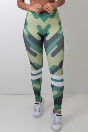 Calça Feminina Legging Camouflage | Ref: CAL418-041