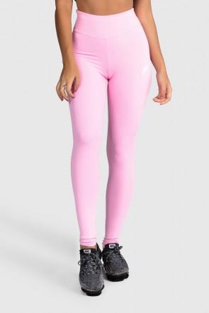 Calça Fitness Básica (Rosa Bebê)   Ref: GO1-G