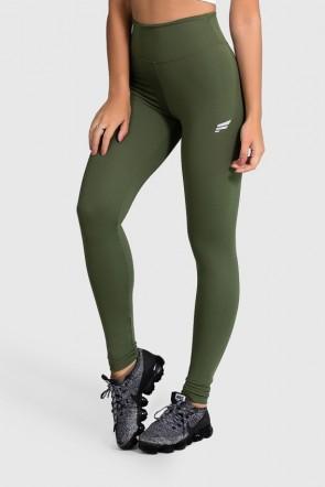 Legging de Poliamida Básica (Verde Militar) | Ref: GO1-I