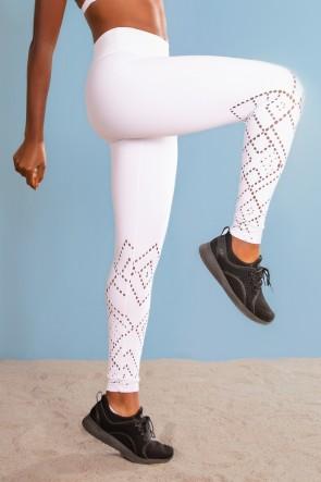 Calça Legging Básica (Branco) | Ref: K3073-B