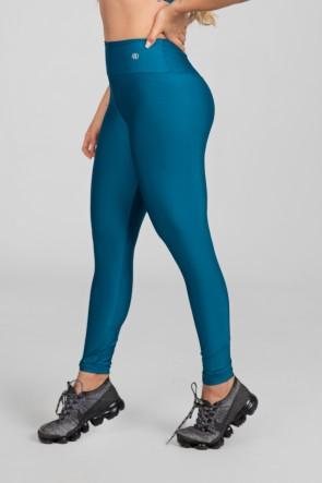 Calça Legging Básica com Cós Triangular (Azul Petróleo) | Ref: K2890-K