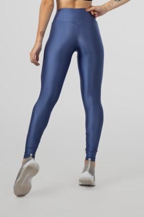 Calça Legging com Cós Triangular (Azul) | Ref: GO530-E