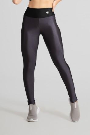 Calça Legging Duas Cores (Chumbo / Preto) | Ref: GO472-C