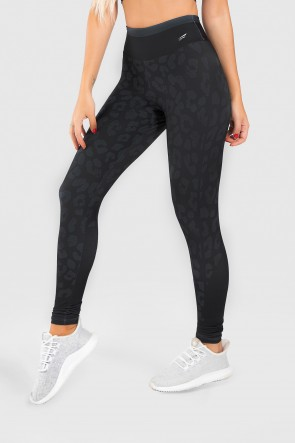 Calça Legging Fitness Estampa Digital Animal Tail | Ref: GO210