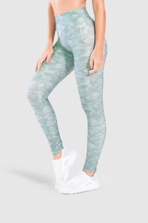 Calça Legging Fitness Estampa Digital Camouflaged Green | Ref: GO189-B