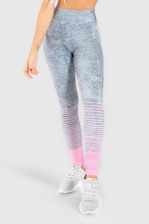 Calça Legging Fitness Estampa Digital Delicate Horizon | Ref: GO207