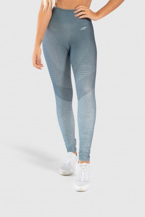 Calça Legging Fitness Estampa Digital Gray Chevron | Ref: GO242