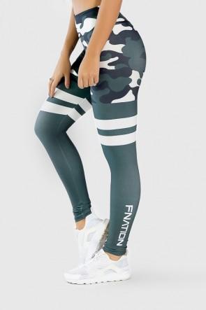 Calça Legging Fitness Estampa Digital Green Camo | Ref: GO263