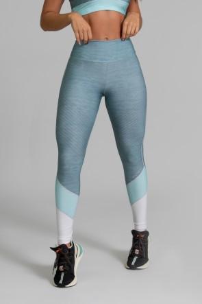 Calça Legging Fitness Estampa Digital Green Expose | Ref: GO339