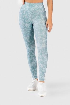 Calça Legging Fitness Estampa Digital Lace Texture | Ref: GO287