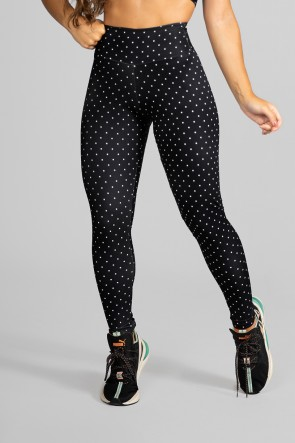 Calça Legging Fitness Estampa Digital Little Points | Ref: GO214