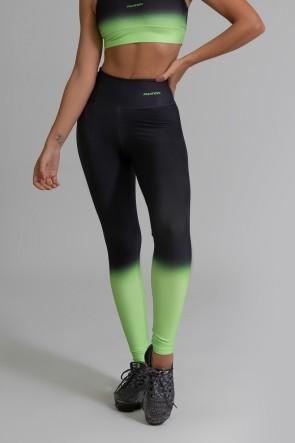 Calça Legging Fitness Estampa Digital Neon Transition | Ref: GO394