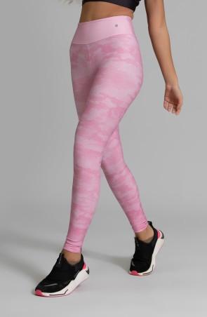 Calça Legging Fitness Estampa Digital Pink Camo | Ref: GO349