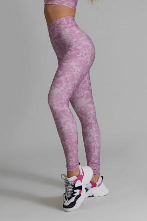 Calça Legging Fitness Estampa Digital Smooth Wine | Ref: GO371