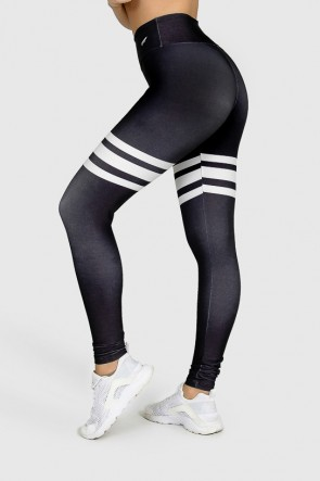 Calça Legging Fitness Estampa Digital Third Basic | Ref: GO290