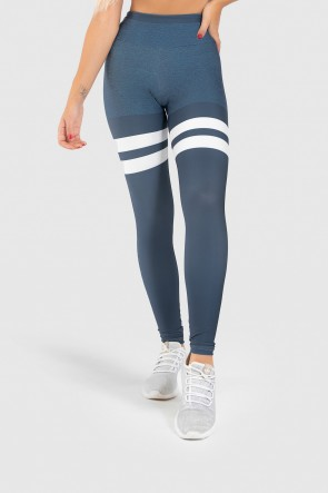 Calça Legging Fitness Estampa Digital United Lines | Ref: GO402