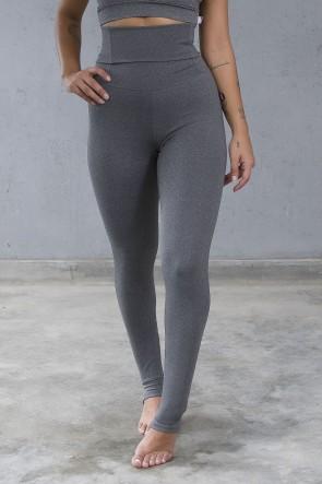 Calça Legging Modeladora com Pezinho (Mescla) | Ref: KS-F211-001