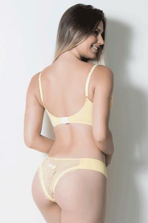 Conjunto Marcela 504 (Amarelo) | Ref: CEZ-TT504-002
