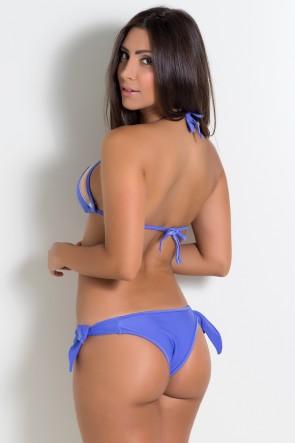 Biquini Liso com Tule (Violeta) | Ref: DVBQ07-005
