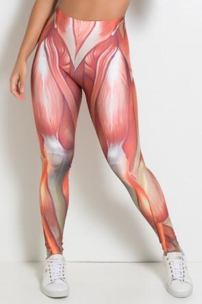 Legging Músculos Sublimada | Ref: KS-F1080