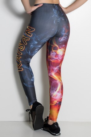 Legging Flame Kaisan Sublimada | Ref: KS-F1105-001