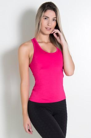 Camiseta Suplex  Nadador Comum (Rosa Pink) | Ref: KS-F123-001
