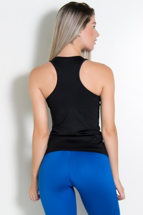 Camiseta Nadador Comum (Preto) | Ref: KS-F123-002
