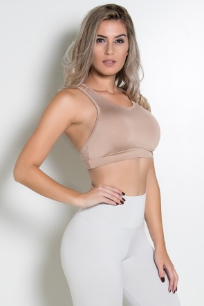 Top Nadador de Alcinha (Chocolate) | Ref: KS-F1616-001