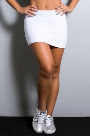 Short Saia Liso (Branco) | Ref: KS-F1665-002