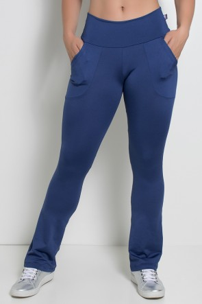 Calça Bailarina Isabel (Azul Marinho) | Ref: KS-F180-001