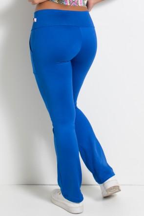 Calça Bailarina Isabel (Azul Royal) | Ref: KS-F180-003