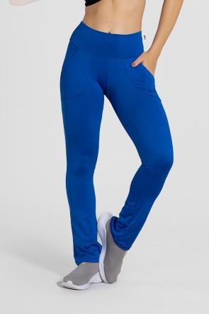 Calça Bailarina Isabel (Azul Royal) | Ref:F180-003