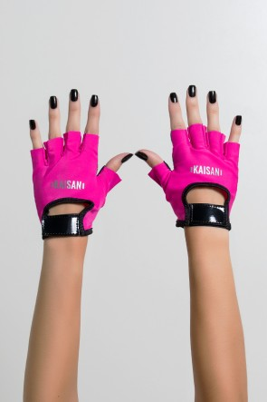 Luva Color Kaisan (Rosa Pink / Preto) | Ref: KS-F1824-003