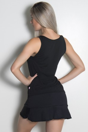 Camiseta Regata Feminina Dry Fit (Preto) | Ref: KS-F1992-001