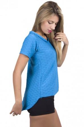 Camiseta Tecido Bolha Fitness Mullet | Ref: F199
